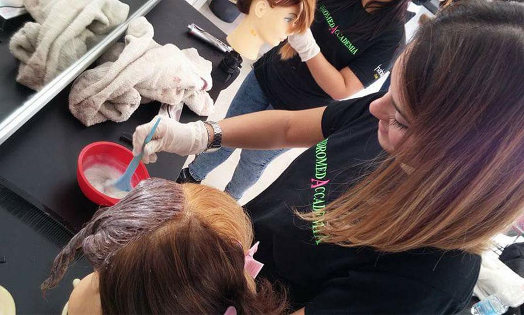 corso di colorimetria per parrucchiere