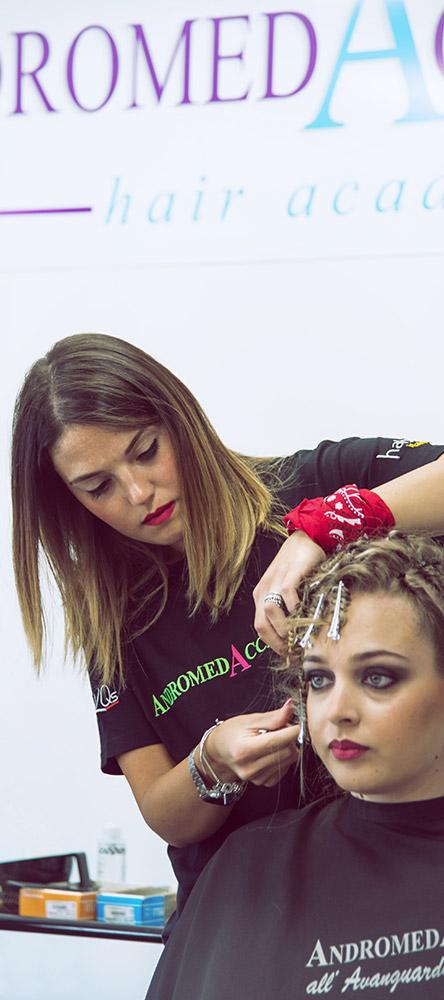 scuola per parrucchieri accademia adromeda